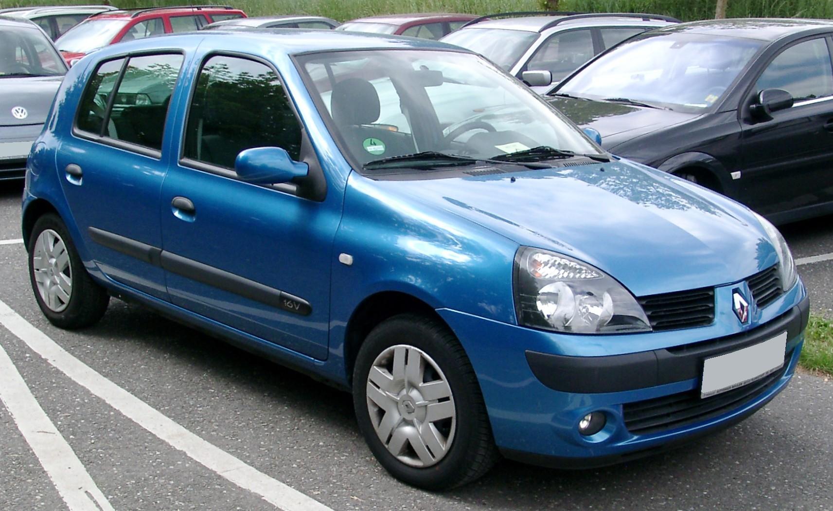 Renault Clio 5 Ptas 2005 Grupo Falc 243 N